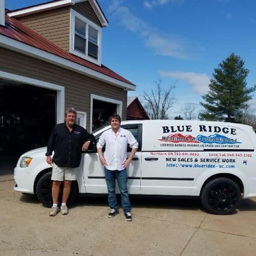 Blue Ridge Air Conditioning Crew